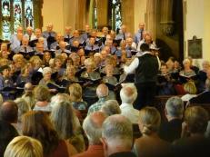 CSC in concert in Barnstaple Parish Church