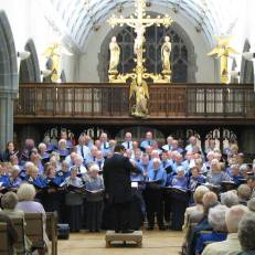 CSC in concert in St Michaels Church, Newquay